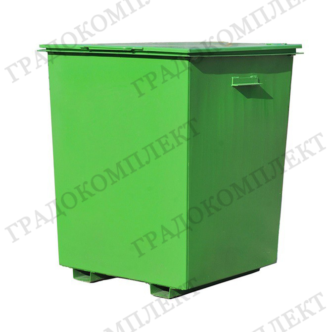 Контейнер для мусора металлический 0,75м3