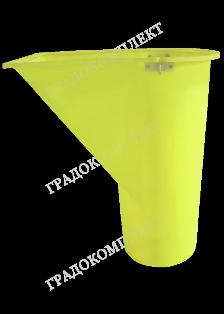 Приемная горловина мусоросброса