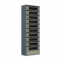 Ящик почтовый ЯПС-10 (серый)