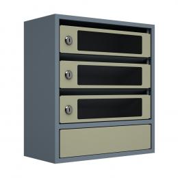 Ящик почтовый ЯПС-3 (серый)
