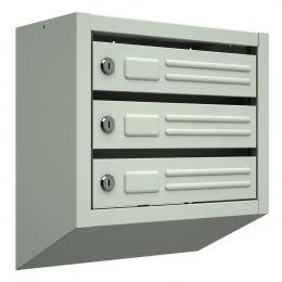 Ящик почтовый ЯП-3 (серый)
