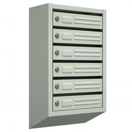 Ящик почтовый ЯП-6 (серый)