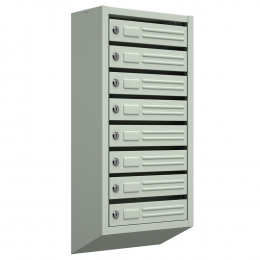 Ящик почтовый ЯП-8 (серый)