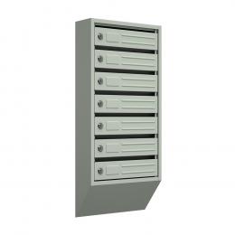 Ящик почтовый узкий ЯПУ-7 (серый)