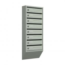 Ящик почтовый узкий ЯПУ-8 (серый)