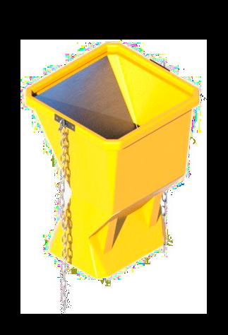 Гаситель скорости пластиковый мусоросброса