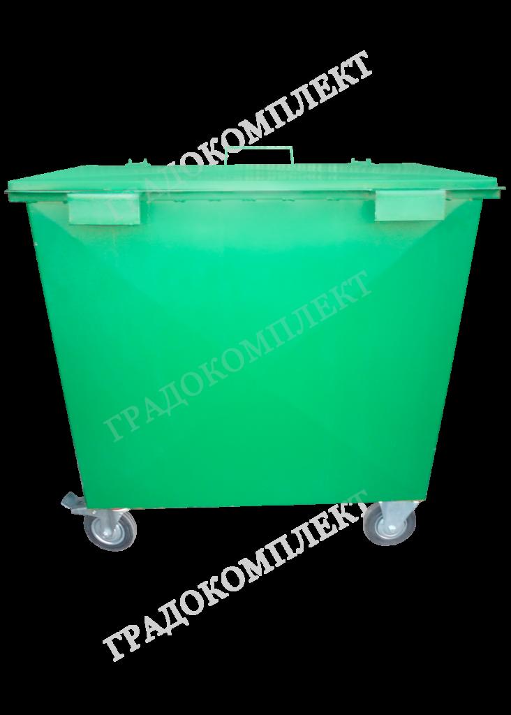 Контейнер мусороприемный металлический