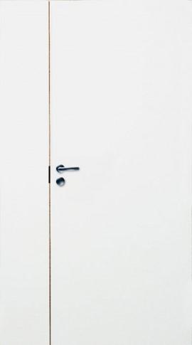 2-х створчатая дверь гладкая PRO 2/1 белая
