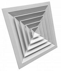 Диффузоры потолочные прямоугольного сечения