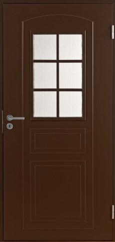 Дверь входная F 2001 коричневая