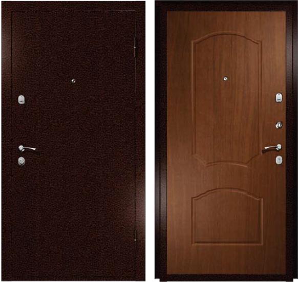Дверь входная металл/мдф Эконом2