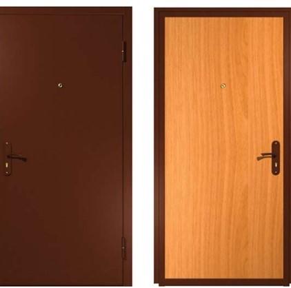 Дверь входная металл/мдф Эконом1
