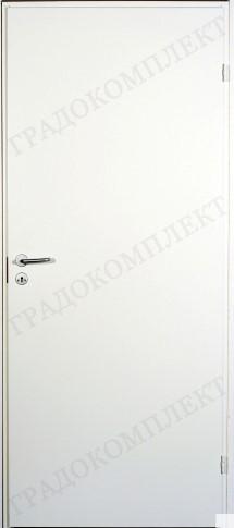 Гладкая дверь F200 белая