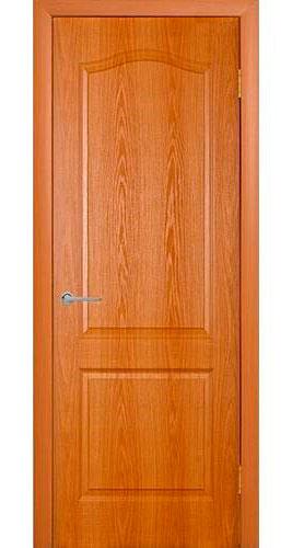 Дверь мазонитовая глухая «миланский орех»