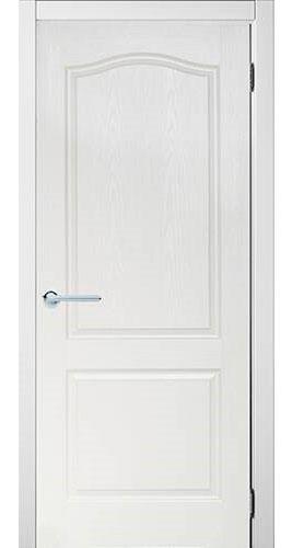 Дверь мазонитовая глухая «белая»