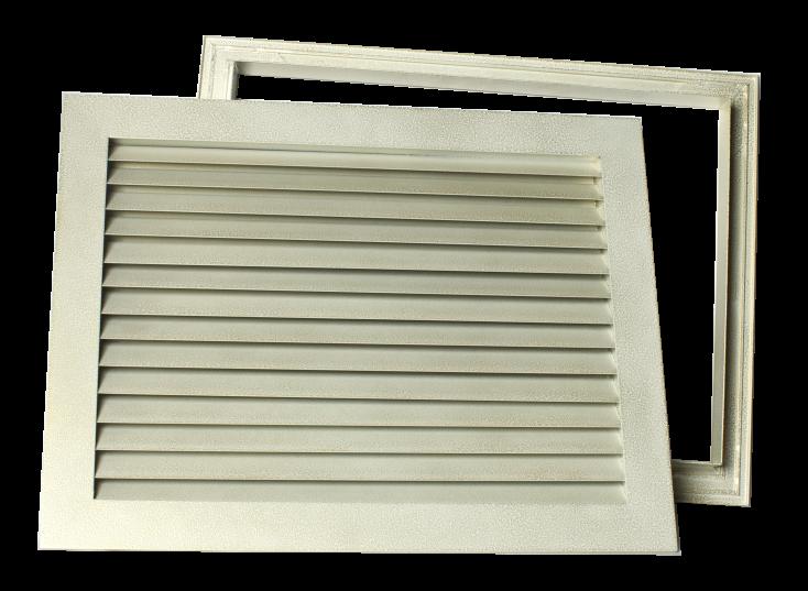 Решетки вентиляционные переточные с ответной рамкой