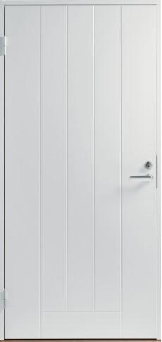 Входная дверь F1000, белая