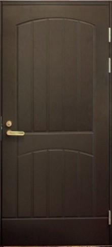 Входная дверь F2000 коричневая