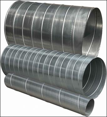 Воздуховоды круглого сечения (круглые воздуховоды)