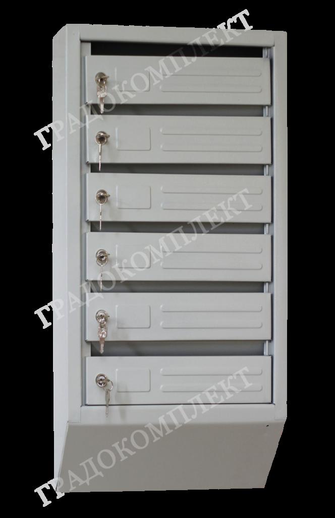 Ящик почтовый вертикальный узкий ЯПУ